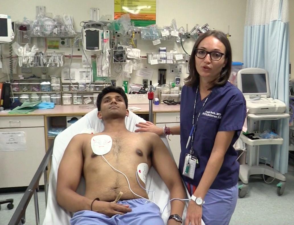 proper defibillator pad placement dual sequential defibrillation core em