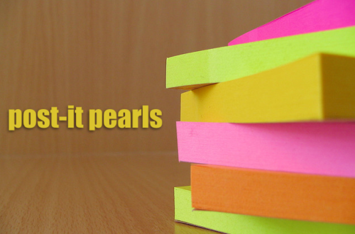 Post-It Pearls 11.0