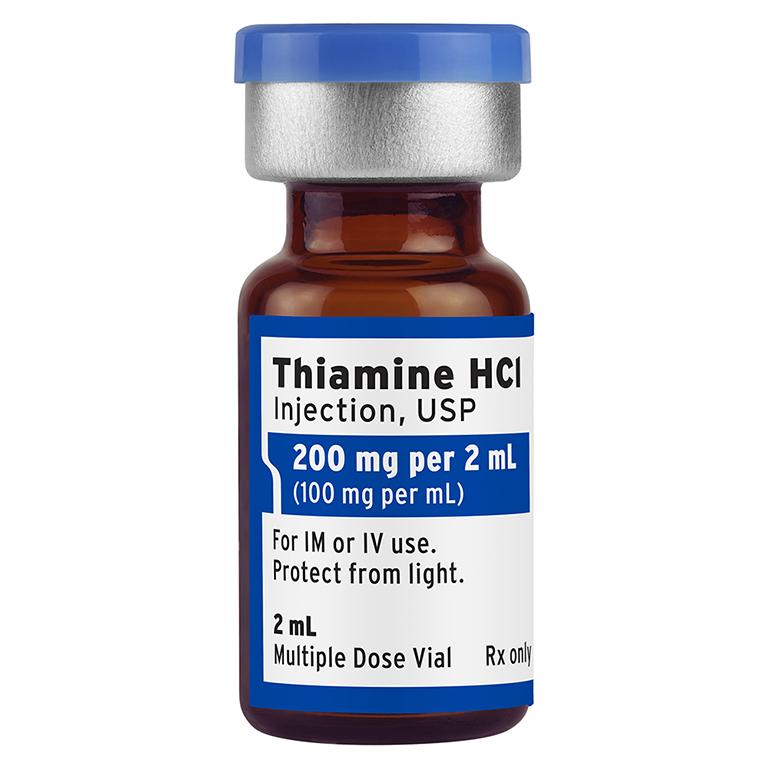 magnesium and thiamine compatibility